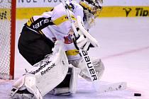 Hokejová příprava Litvínova s Chomutovem.