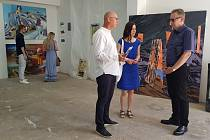 Malířské sympozium Benedikt je jedním z projektů, které teplárenská společnost United Energy podpořila v rámci 2. kola přijímání žádostí o finanční dary a sponzoring.