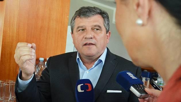 Jiří Charvát, jednatel firmy Charvát Group.