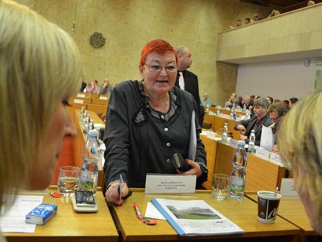 Hana Jeníčková v roce 2014, kdy přišla o post ve vedení radnice po vítězství svých bývalých kolegů v komunálních volbách.
