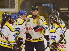 Litvínovské hokejistky.
