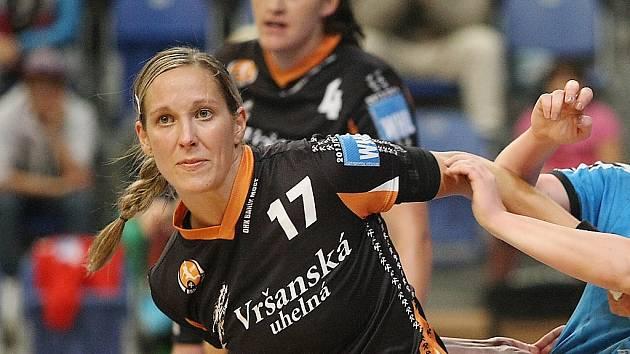 Zkušená mostecká hráčka Hana Martinková.