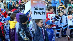 Na zimním stadionu v Mostě byla zahájena letošní série mezinárodních turnajů mladých hokejistů Easter Cup.