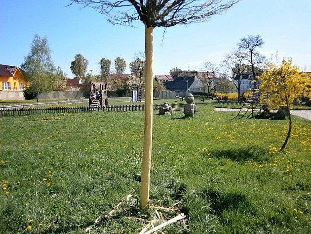 Vandal začal v Litvínově řádit loni na jaře.