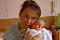 Adéla Šnorová, se narodila v ústecké porodnici dne 10. 5.2013 (9.00) mamince Lucii Šnorové z Horního Jiřetína, měřila 49 cm, vážila 3,15 kg.