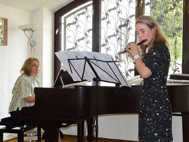Litvínovské flétnistky získaly přední místa v prestižní soutěži