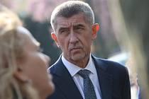 Předseda vlády ČR Andrej Babiš navštívil v úterý 9. dubna Most.