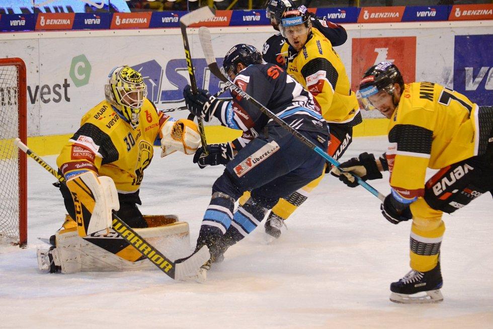 Severočeské derby mezi domácím Litvínovem a hosty z Liberce.