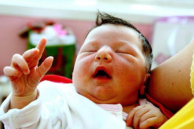 Mamince Lucii Jeřábkové z Litvínova se v Kadani 16. května v 16.59 hodin narodila dcera Emma Žáková. Měřila 52 cm a vážila 3,95 kilogramu.