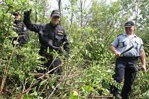 Pátrací akce po pohřešované parašutistce