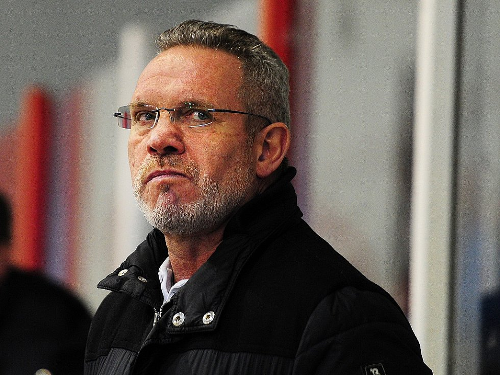 Hokejový trenér Milan Razým.
