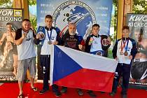 Mostečtí kickboxeři brali medaile při MS v Rakousku.