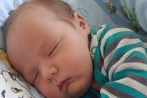 Matěj Dvořák se narodil mamince Lucii Klimešové 20. března v 7.30 hodin. Měřil 52 cm a vážil 4,08 kilogramu.
