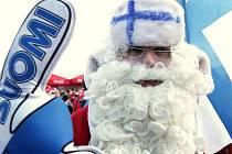 Finský hokejový fanoušek.