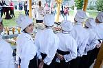 Vyvrcholení kurzu studené kuchyně na Soukromé hotelové škole Bukaschool v Mostě
