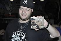 Mostecký raper Pechi se svým debutovým albem Back To The Basics.