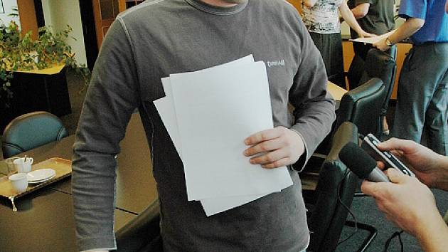 Ředitel Úřadu práce v Mostě Oldřich Malý.
