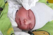 Šimon Hlas se narodil mamince Miroslavě Hlasové z Mostu 11. března v 6.10 hodin. Měřil 49 cm a vážil 2,95 kilogramu.