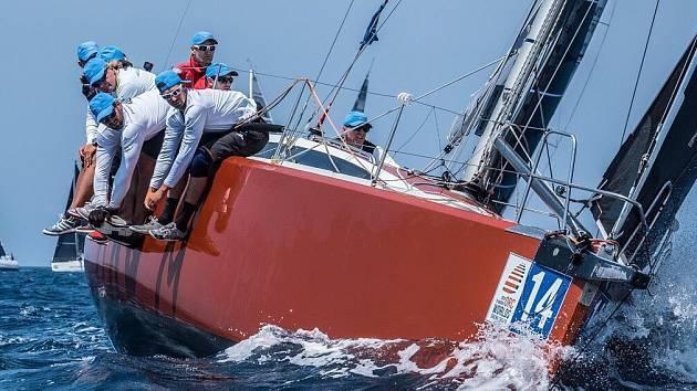 Hebe Sailing Team na MS v chorvatském Šibeniku.
