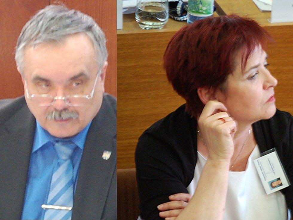 Vlastimil Vozka a Jaroslava Boudová.