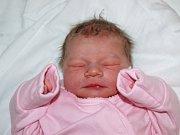 Mamince Simoně Štěpničkové z Litvínova se 5. února v 5.10 hodin narodila dcera Sára Ťahlová. Měřila 50 centimetrů a vážila 3,51 kilogramu.