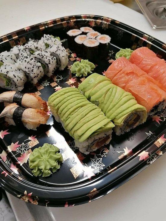 Kaito sushi v Mostě