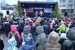 V neděli 23. prosince skončily na 1. náměstí v Mostě Vánoční trhy.