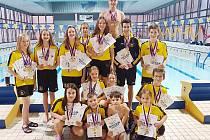 Litvínovští medailisté.