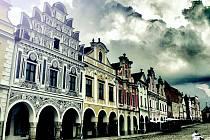 Náměstí v Telči.