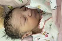 Klaudie Danielová se narodila mamince Klaudii Danielové 8. července ve 21.42 hodin. Měřila 46 cm a vážila 3,2 kilogramu.