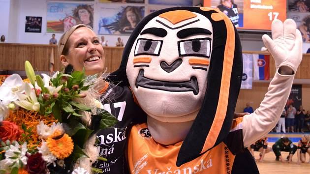 Zápas Most versus Olomouc byl otvírákem sezony a zároveň rozlučkou Hany Martinkové s kariérou.