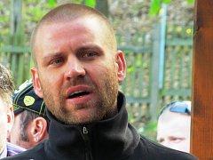 Jan Ptáček, předseda fanklubu litvínovských hokejových fanoušků Ropáci on Tour.