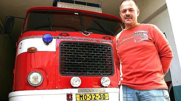 Vladislav Feřt ze Sboru dobrovolných hasičů Litvínov.