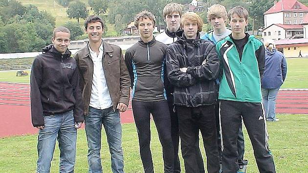 Mladí atleti AK Most.