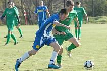 SK Kopisty (vlevo) budou  na svém trávníku v rámci regionálního derby hostit mužstvo Meziboří.