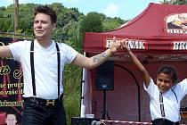 Mostečan David Kozlok, nejmladší cirkusový principál, se svým Cirkusem mini chystá do mostekého kulturního domu Medůza mega akci pro děti