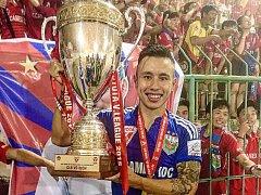 Fotbalista Michal Nguyen ve vietnamské lize.