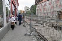 Takhle nyní vypadá Mostecká ulice v Litvínově.