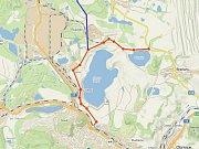 Rozšíření silnice Most – Litvínov má nové možnosti. Na mapce je červeně vyznačena nově budovaná silnice Most - Mariánské Radčice. Modře pak možný obchvat chemičky.
