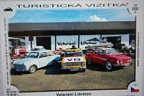 Turistická vizitka muzea Veteráni Litvínov.