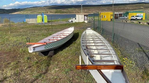 Týmy Dračích lodí budou moci potrénovat na jezeře Most.
