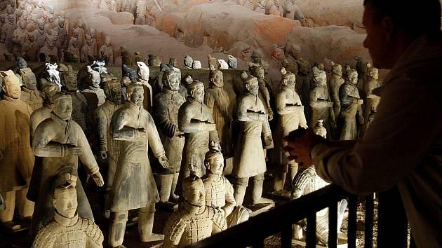 Výstava slavné čínské Terakotové armády