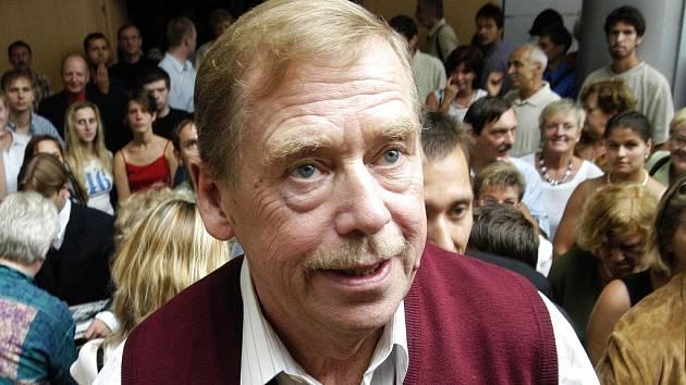 Bývalý prezident Václav Havel.