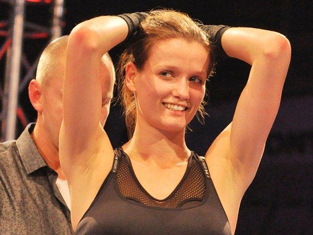 Kateřina Netolická se věnovala i kickboxingu.