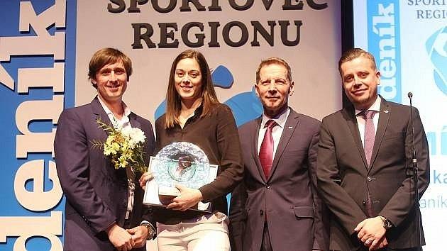 Naposledy fanoušci vyhlásili Dominiku Zachovou jako nejlepšího sportovce mosteckého regionu.
