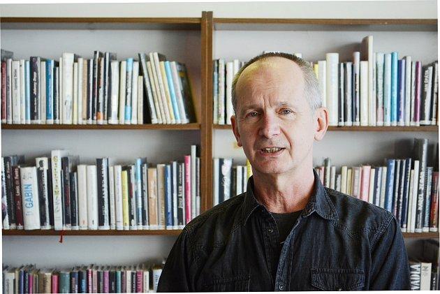 Bývalý ředitel Městské knihovny vMostě Tomáš Ondrášek.
