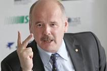 Šéf mosteckého fotbalového klubu Petr Kabíček.
