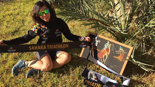 Alena Vrátná dokončila náročného Ironmana v Africe.