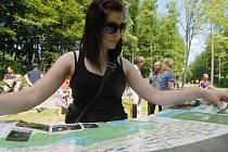 Otevírání rekreační plochy Nové Záluží v Litvínově.