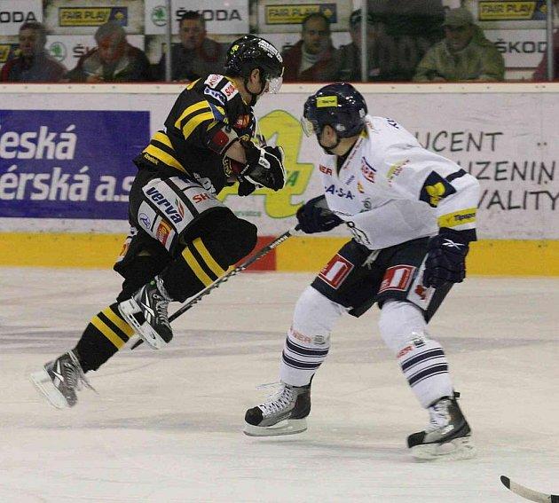 Hokejisté Litvínova podlehli Liberci